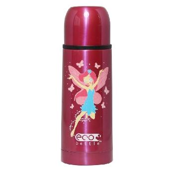 Vakuová termoska s hrníčkem ECO Bottle Pink Fairy 350 ml