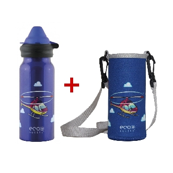 Lahev Eco Bottle Airplanes 400 ml