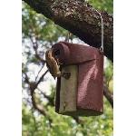 Ptačí budka 3SV otvor 45 mm pro špačky s ochranou proti kočkám