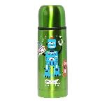 Vakuová termoska s hrníčkem ECO Bottle Radio Robot 350 ml