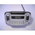 LYNX AM FM dynamo solární rádio a lampa